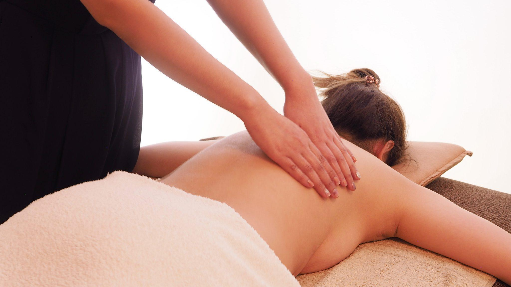 Full body relaxation massage